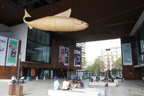 Big fish thing.