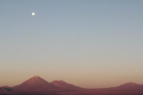 Licancabur volcano.