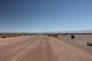 Desert road.