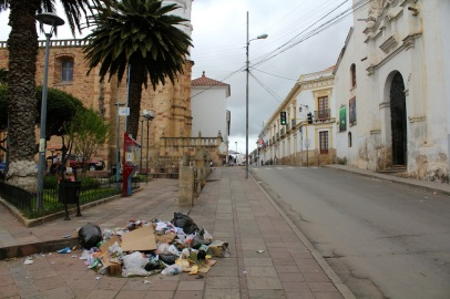 Sucre garbage system.