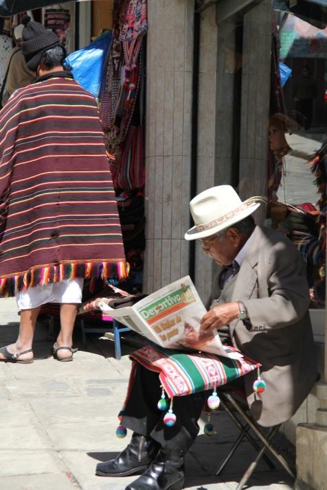 Bolivia man.