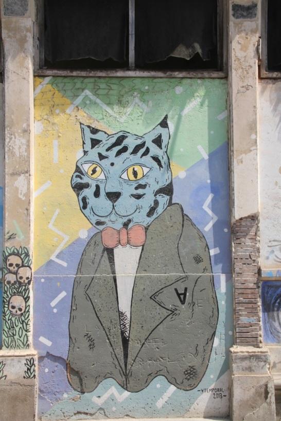 Street painting, Huanchaco, Peru
