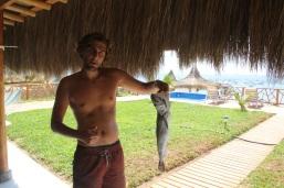 Fish from El Nuro pier, Peru