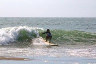 Surfing, Mancora, Peru