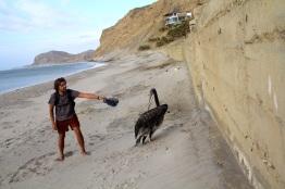 El Nuro beach, Peru