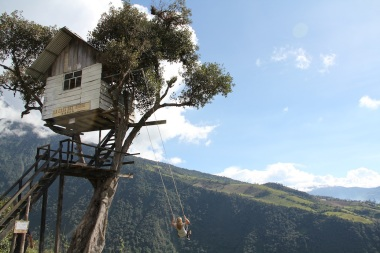 Casa del Arbol, Baños, Ecuador