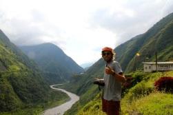 Ruta de las cascadas, Baños, Ecuador