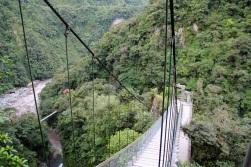 Pailon del Diablo Waterfall, Baños, Ecuador