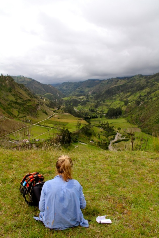 Valley during The Quilotoa Loop, Ecuador
