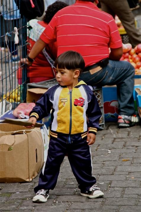 Kid, Quito, Ecuador