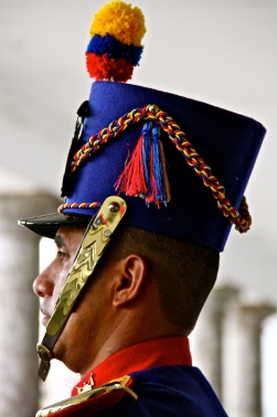 Guard, Quito, Ecuador