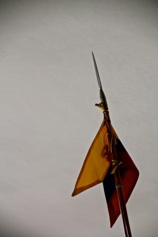 Guard, Quito, Ecuador
