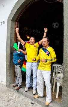 Colombia vs. Ivory Coast (Brazil World Cup 2014), Popayán, Colombia