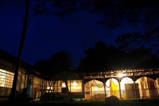 Hare Krishna farm, Guayabito, Colombia