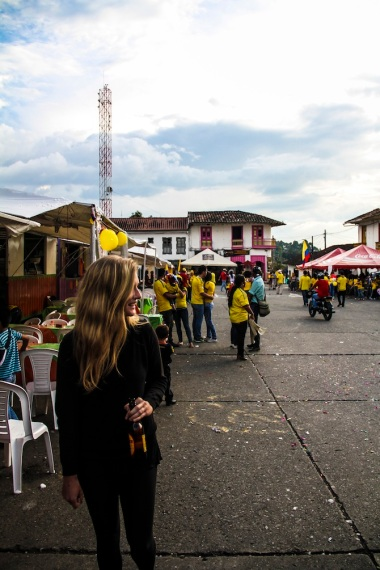 Colombia vs. Brazil (2014), Salento, Colombia