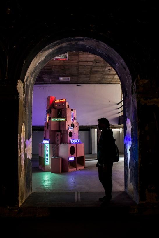 Exhibition gallery in Bogota, Colombia