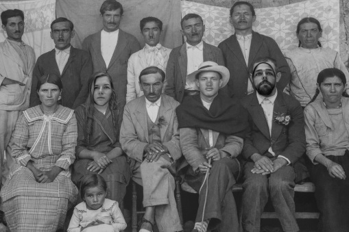 Historic photo gallery in Bogota, Colombia