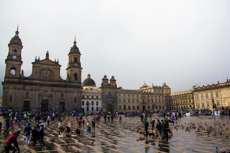 Bolívar Square, Bogota, Colombia