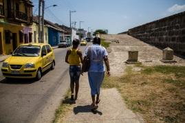 Locals in Cartagena, Colombia