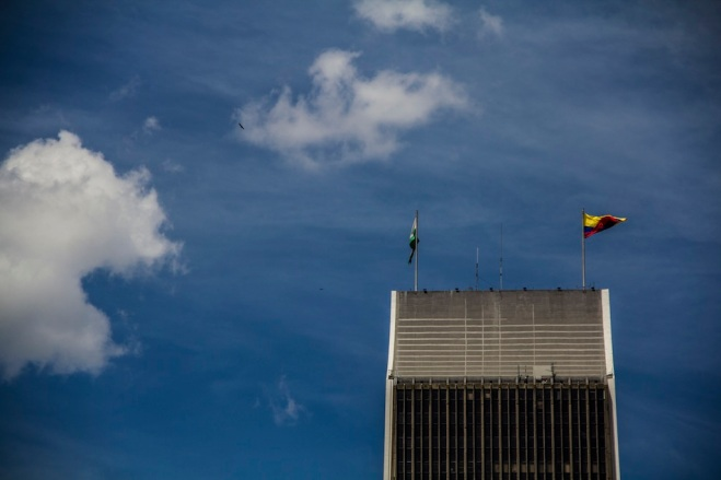 The Coltejer Building, Medellin, Colombia