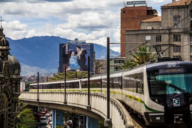 Berrio station, Medellin, Colombia