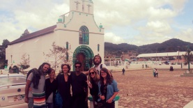 Church at Village San Juan Chomula, Mexico.