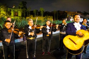 Mariachi band, Plaza Garibaldi, Mexico City
