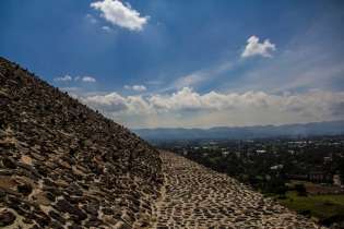 Pyramid of the Sun, Teotihuacán, Mexico