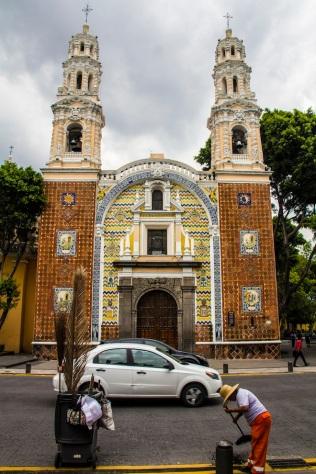 Iglesia De Guadalupe, Puebla, Mexico