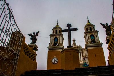 Nuestra Señora de los Remedios Sanctuary., Cholula, Mexico