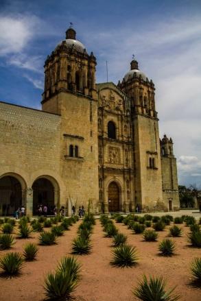 Church of Santo Domingo de Guzmán.
