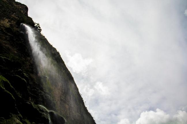Waterfall at Sumidero canyon, Mexico