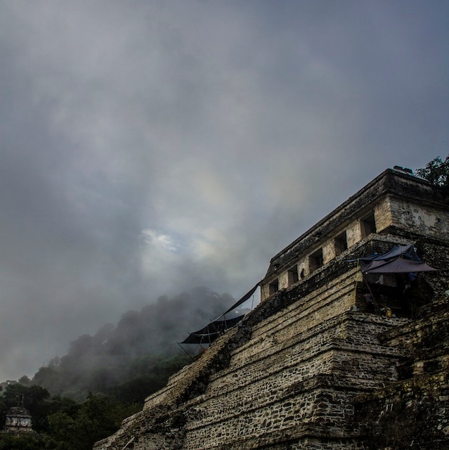 Temple of the Inscriptions, Palenque ruins, Mexico