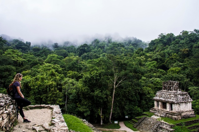 Temple of the Sun, Palenque, Mexico