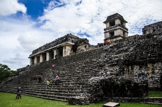 The Palace of Palenque, Mexico