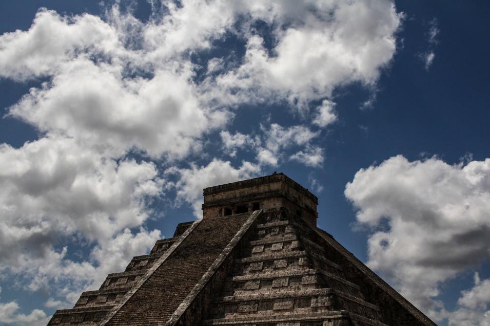 The Castillo Pyramid, Chichen Itza, Mexico
