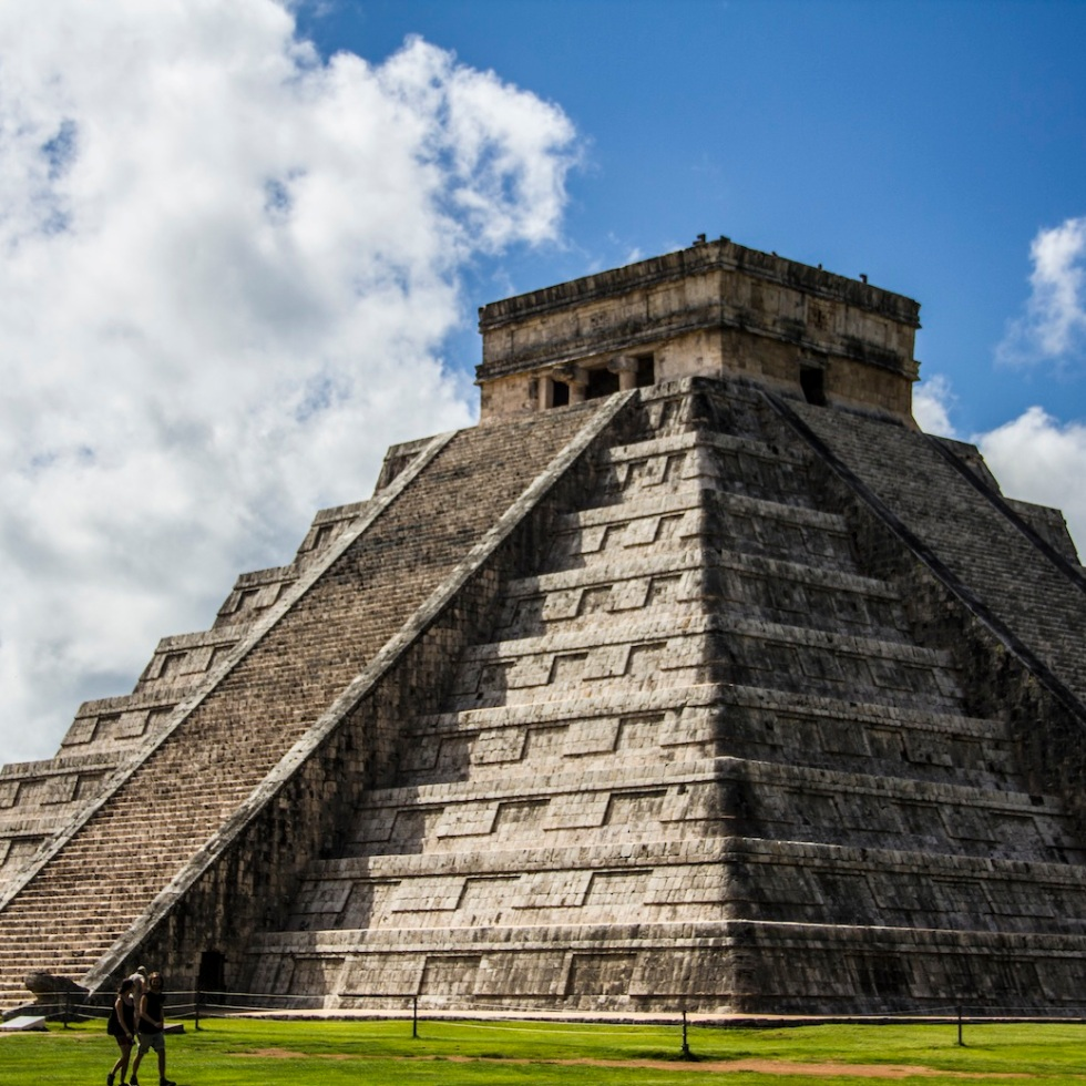 The Castillo, Chichen Itza, Mexico