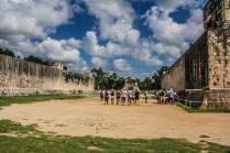 The Great Ball Court, Chichen Itza, Mexico