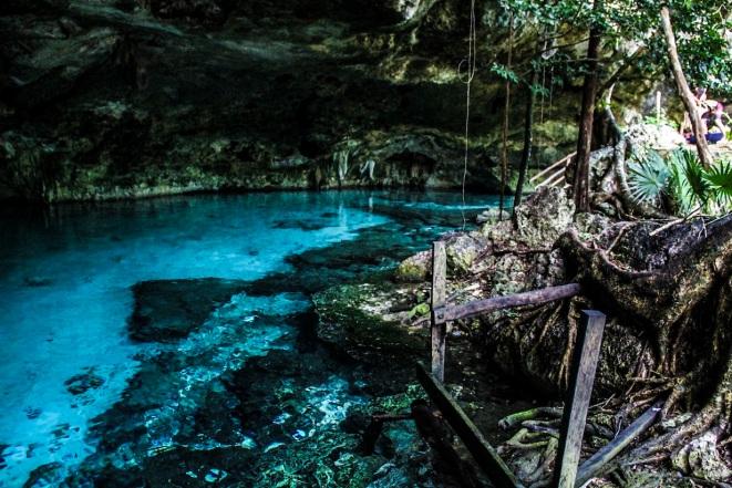 Dos Ojos cenote, Riviera Maya, Mexico