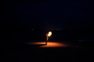 Night lantern, Cancun, Mexico