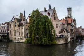 Rozenhoedkaai, Bruges, Belgium