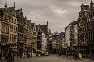 Steet in Antwerp, Belgium