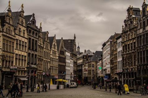 Steet in Antwerp, Belgium