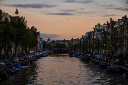Amsterdam canals, Netherlands