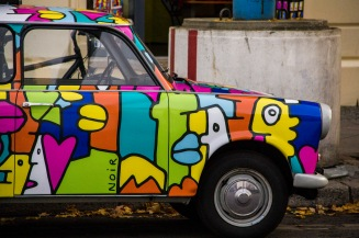 Trabant car, Berlin