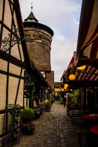Craftsmen's Alley, Nuremberg, Germany