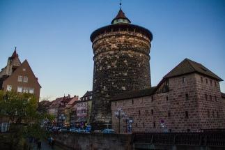 Spittlertor, Nuremberg, Germany