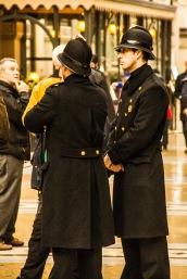 Police in Milan, Italy