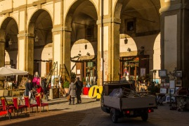 Piazza Grande, Arezzo, Italy