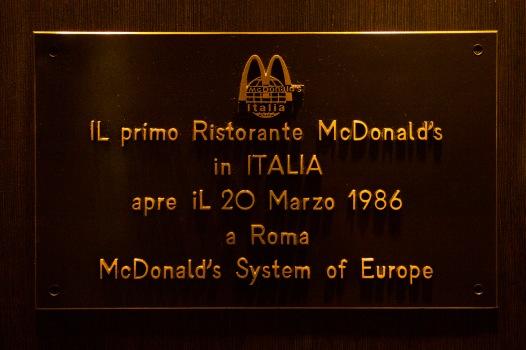 McDonald's, Rome, Italy